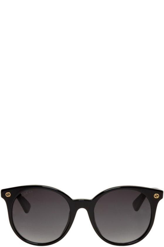 4e832490550 Gucci - Black Pantos Sunglasses