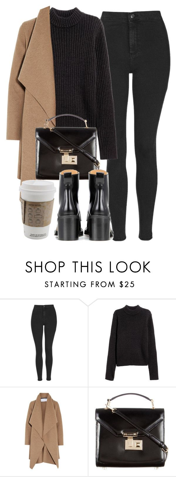 """""""Untitled #6183"""" by laurenmboot ❤ liked on Polyvore featuring Topshop, Harris Wharf London, Rebecca Minkoff and rag & bone"""