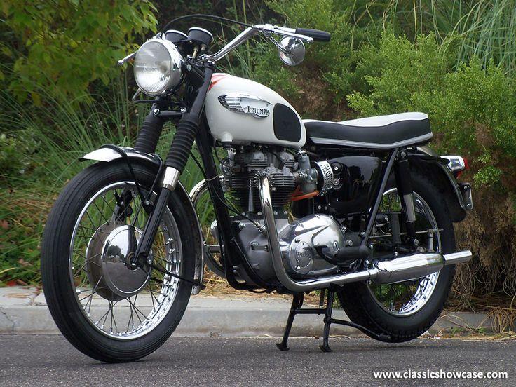 1966 Triumph Motorcycles Bonneville T120r By Classic