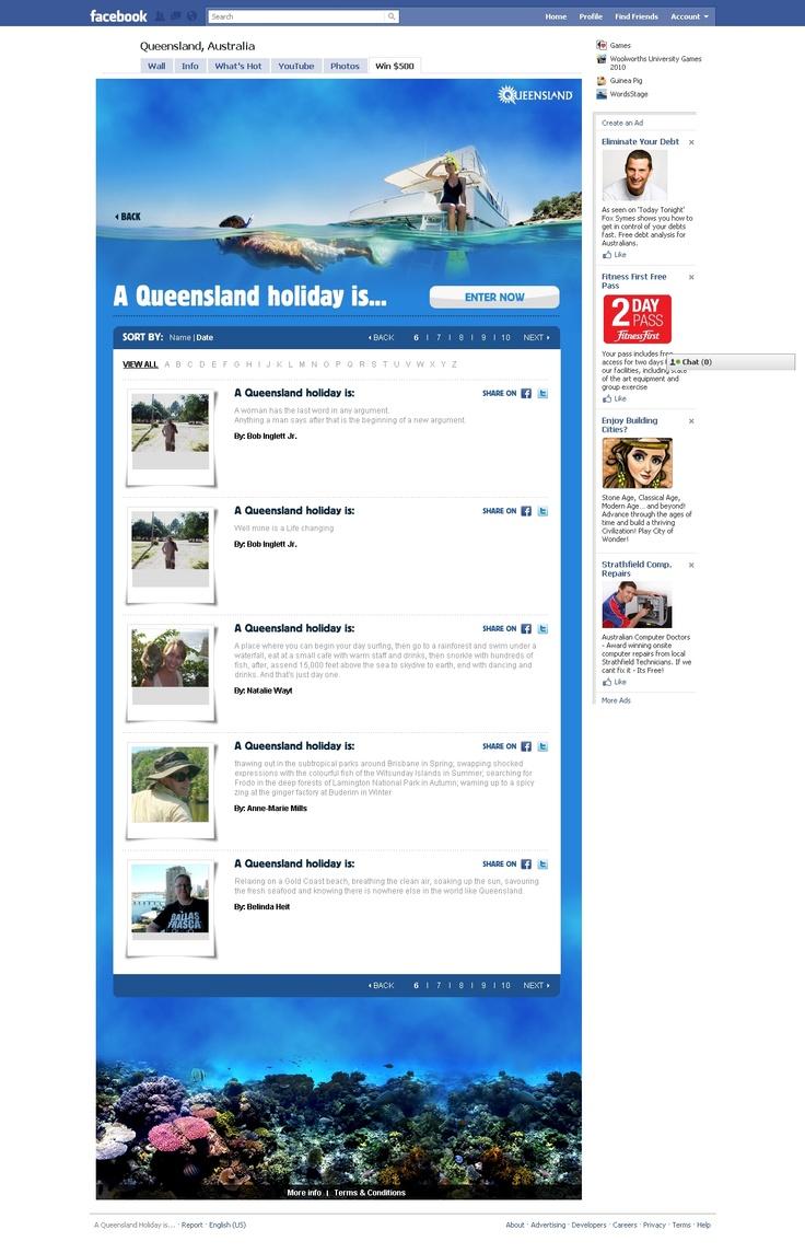 Tourism Queensland - http://ronaldjusuf.wordpress.com/2013/02/20/tourism-queensland/