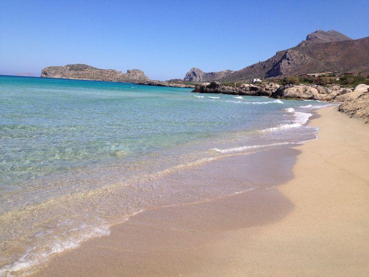 Falassarna Beach, Crête