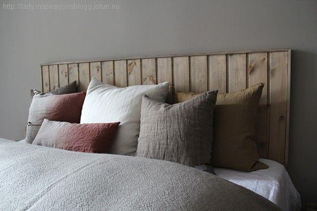 Drivved sengegavl