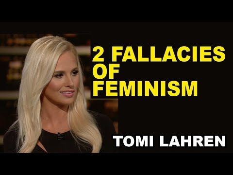 (6) Tomi Lahren Destroys Feminism - YouTube