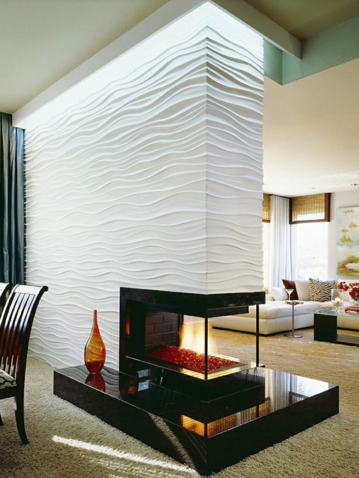 This looks like waves on the water... wonder how expensive it would be?  But it would look GREAT in my sea-side cottage look. - - Houzz