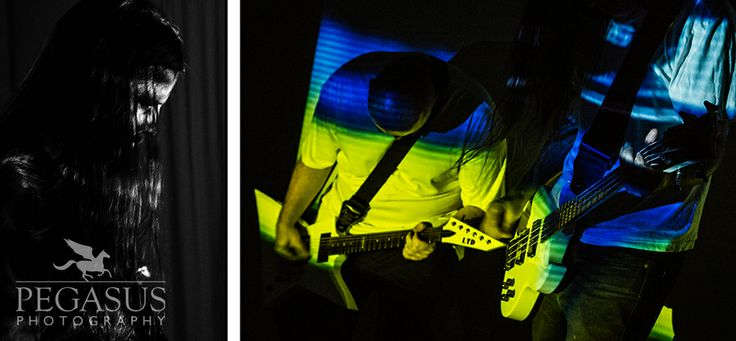 Photos of Dying of the Light filming their latest music video - Pegasus Photography
