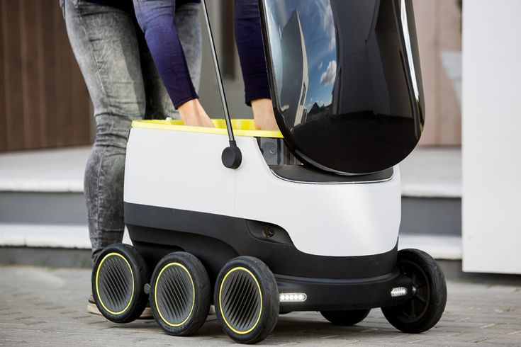"""<h5>Self-driving delivery robots are hitting the streets of the UK, Germany and Switzerland.</h5> Starship Technologies, an Estonian start-up, wants to disrupt retail and short-distance logistics with autonomous delivery robots, and has just announced an initiative in Europe that brings a future of delivery by """"droid"""" closer to the consumer.London, Düsseldorf, Hamburg and Bern are the first cities to test out the droids, with food companies Just Eat, Hermes, Metro Group and Pronto.co.uk…"""