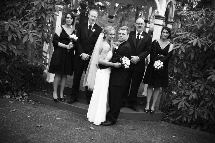 #wedding #bride #groom #reception #weddingreception #loveit #chateauwyuna #happycouple #congratulations #allsmiles #bridalparty #gorgeousdress