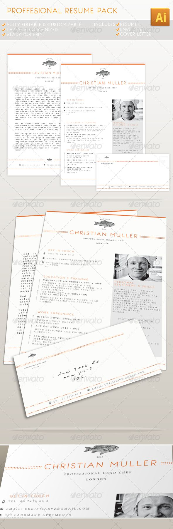 professional resume pack - Samples Of Professional Resumes