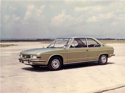 Tatra T613 Prototype (Vignale), 1969 - Two-Door Coupe (#0-00-26)