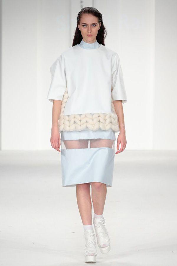 uca rochester, graduate fashion week, 2014, shristi rai, innovative knitwear