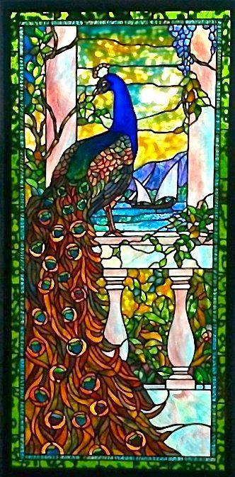 Peacocks and Peonies by Century Studios