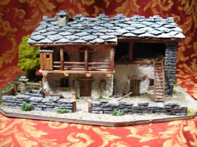 Casetta fatta dagli artigiani di luserna casette pinterest for Case semplici della casetta di legno