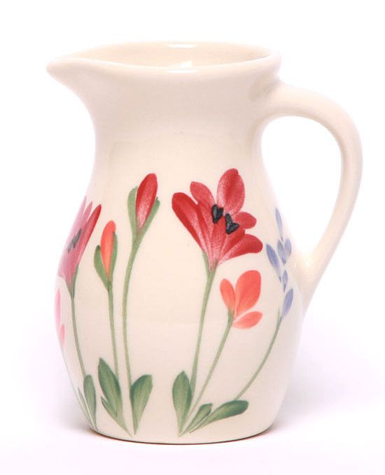 Posie Ceramic Pitcher - 11 Pattern Options