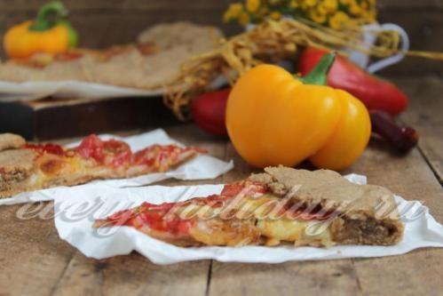 Галета с томатами и моцареллой