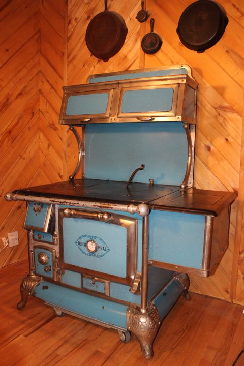 Antique Wood Cook Stoves | Vintage Wood Cook Stove for Sale – Quick Meal Antique Stove