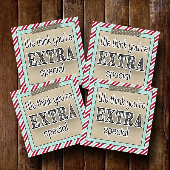 LDS Young Womens Girls Camp Pillow Treats Gift Tags Cards