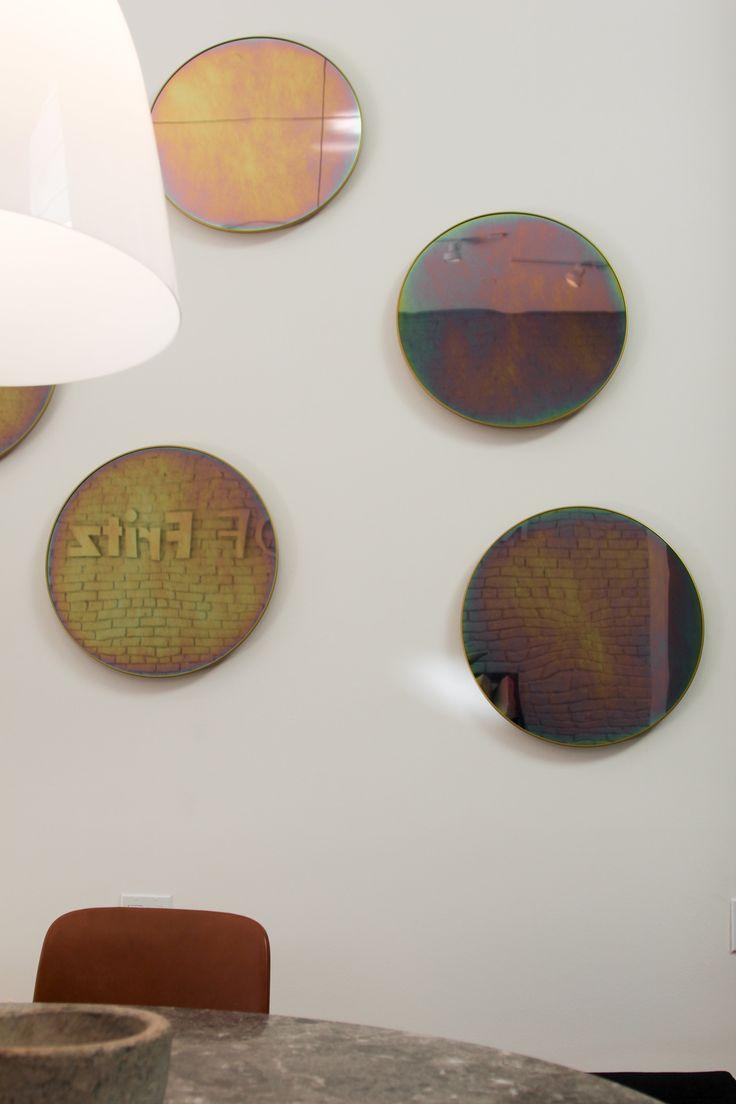 Republic of Fritz Hansen - San Francisco store. Beautiful Objects mirror, designed by Jaime Hayon