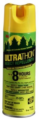 Ultrathon Insect Repellent – Do you need an bug spray that'll last?  Ultrathon Insect Repellent was originally developed for the U.S. Military.  What do you have to say about that?  With 3M Controlled Release Technology you'll find yourself receiving protection from all kinds of bugs for up to 8 hours.  Protect yourself from those pesky gnats, mosquitoes, ticks, chigger and biting flies.