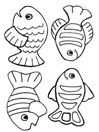 Fish Game Template Kids Projects Pinterest Coloring