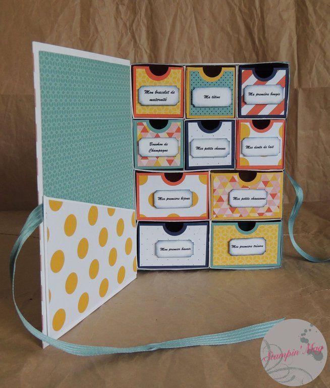Stampin'Mag, le premier mag de scrapbooking dédié à la marque Stampin'Up! - Boîte de naissance