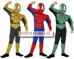 Disfraz spiderman niño. Mucha más variedad en www.martinfloress... #Carnaval #sevilla @Martin_flores_