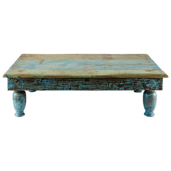 Rustic Turquoise Coffee Table Country Charm Pinterest
