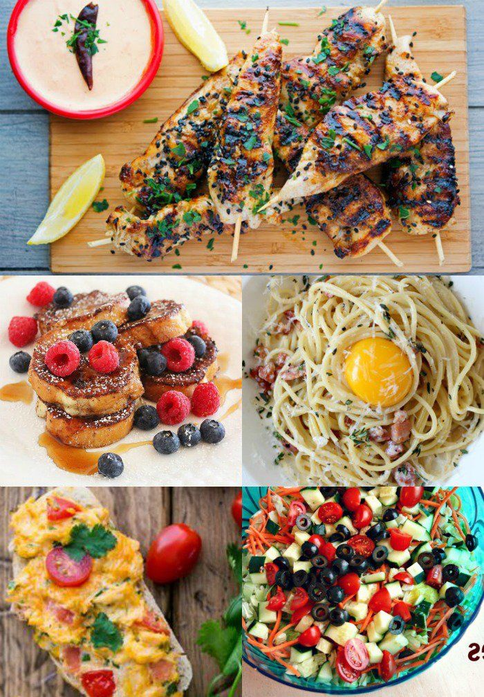 Find out what's for dinner, here's a full week of meal ideas for your family