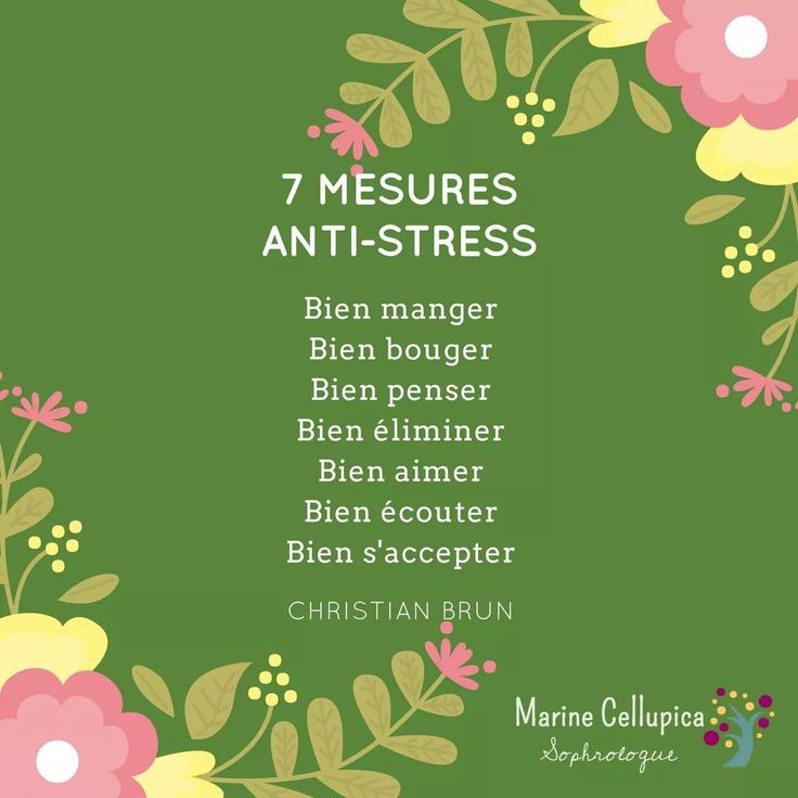 7 mesures anti-stress, pour être plus zen au quotidien.