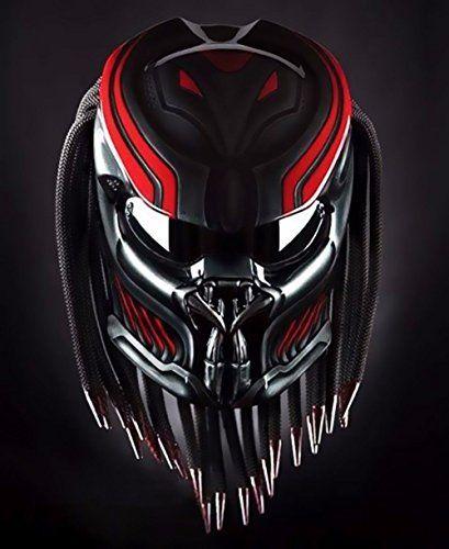 New Custom Red Airbrush Pattern Predator Motorcycle DOT s... https://www.amazon.com/dp/B077WDB9WZ/ref=cm_sw_r_pi_dp_U_x_p3OiAbDXK73FJ