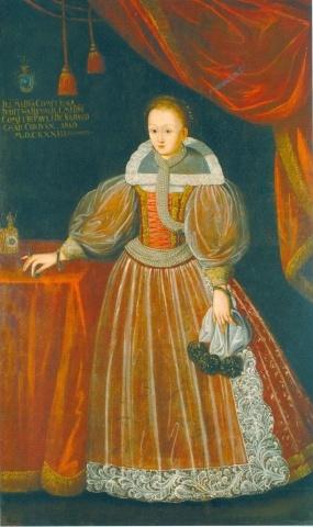 Judit Révay, wife of Pál Nádasdy. Hungarian National Museum, Budapest