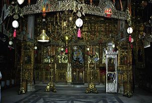 Το καθολικό της Ιεράς Μονής Εσφιγμένου (εσωτερικό άποψη) / The katholikon of the Holy Monastery of Esphigmenou (internal view)