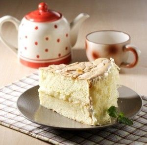 Resep: Cake Keju Almond – Perpaduan Tepung Beras & Tepung Ketan Yang Wangi & Lembut