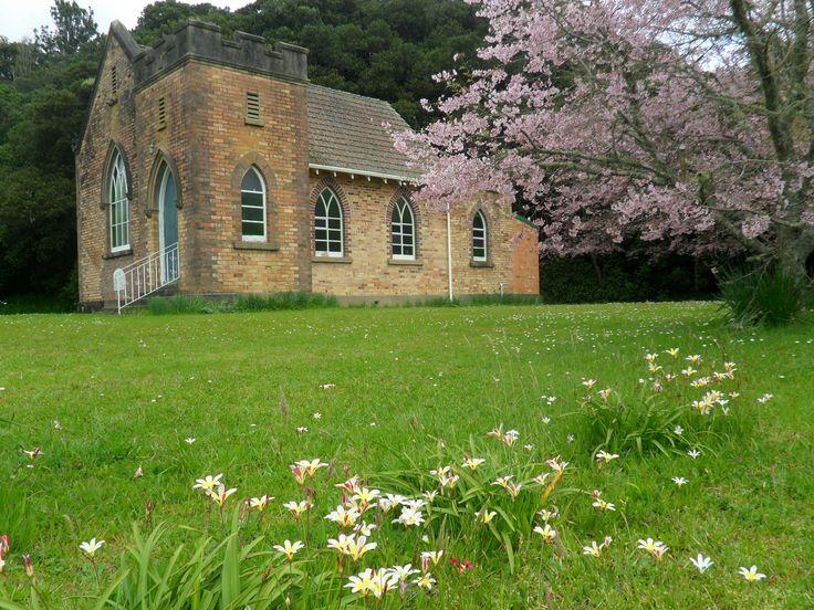 Maungatapere Church, New Zealand. Photo by Sally Williams