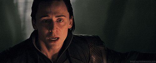 Loki, Thor, The Avengers, Loki gif, Tom Hiddleston, Tom Hiddleston gif, Hiddles, Loki Laufeyson,