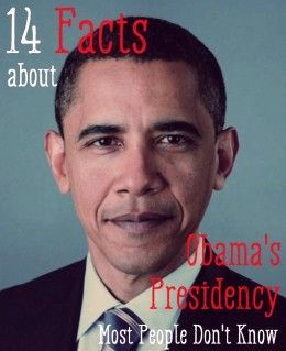 """14 Facts About Obama's Presidency Most People Don't Know - love how the author is distinct and clear on the subject of his article.  He also lists, for the most part, reputable references.  Then the idiots come out of the woodwork to call the author names, a liar, and an """"Obama Lover.""""  Sorry scared white people, but he has """"done good"""" whether you believe it or not."""