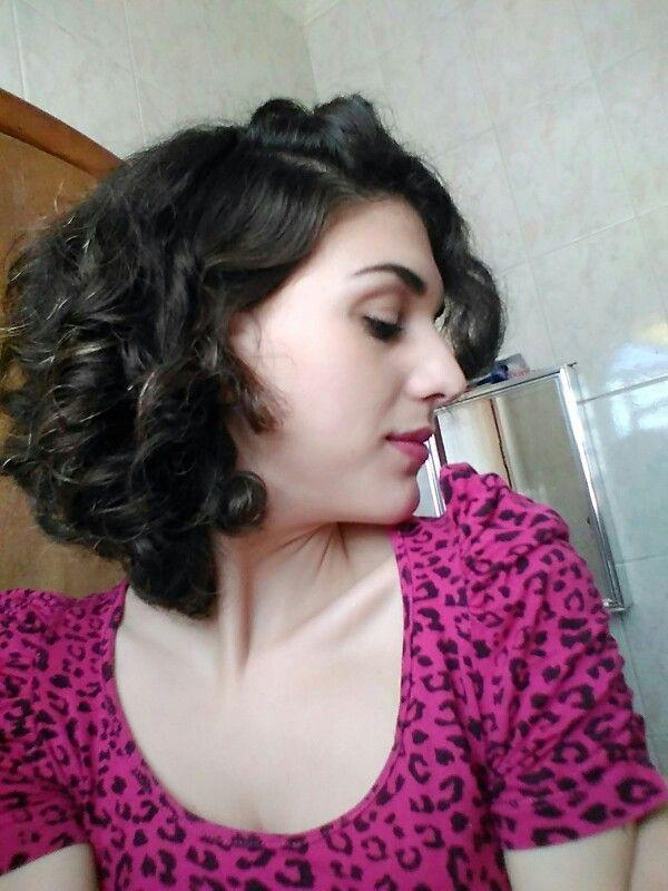 Cabelo ondulado natural #cabeloondulado #cabelocurto #cabeloonduladocurto #wavyhair #cabelovolumoso #enilayodog