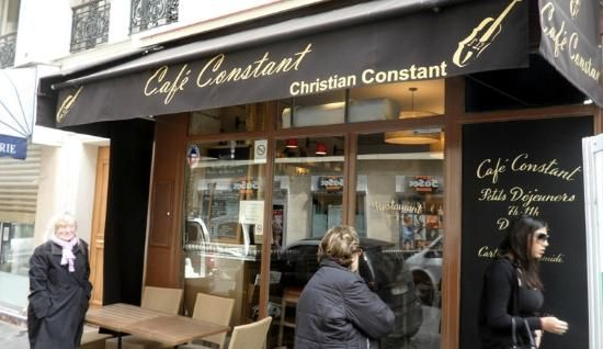 Cafe Constant Paris-near Eiffel Tower- Lili's favorite. Arrive before 7pm