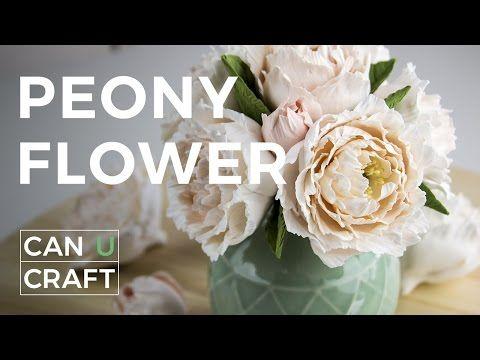 Хризантема из холодного фарфора за 15 минут легко МК Chrysanthemum from cold porcelain in 15 minute - YouTube