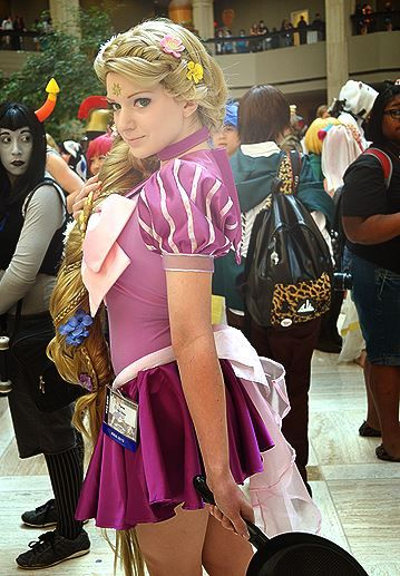 Sailor Rapunzel Cosplay from AWA-CUUUUUUTTEEEEE