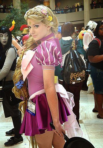 Sailor Rapunzel Cosplay from AWA-CUUUUUUTTEEEEE