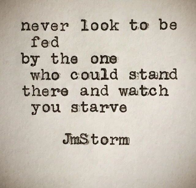 Jm Storm, a profound statement that reveals the deep tragedy at the heart of abusive relationships.