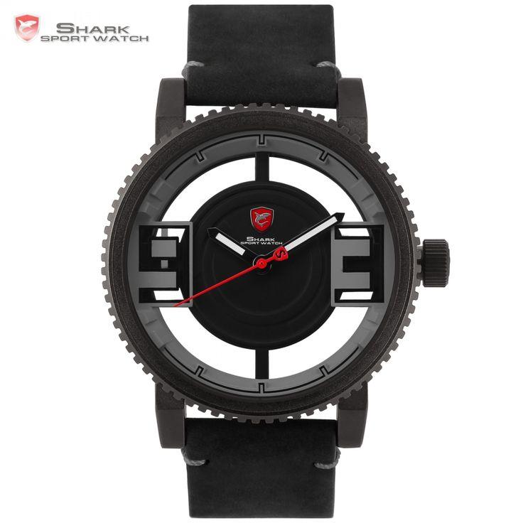 Megamouth SHARK Sport Watch Fashion Series Model SH545 Transparent Designer Quartz Mens Watches //Price: $78.98 & FREE Shipping //         #SharkTimepiece