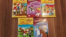 5 Bibi und Tina Bücher / Lesebücher ..Schneider Buch ..super zustand