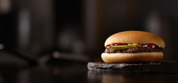 McDonald's Hamburger 250 calories