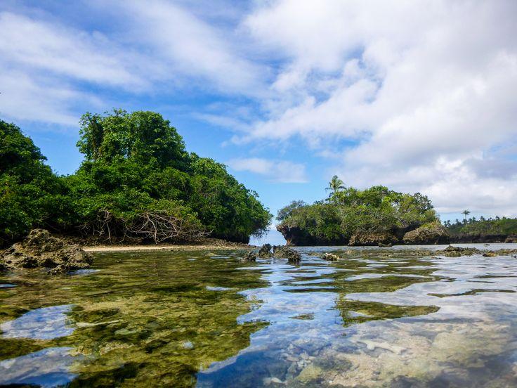The beautiful waters of Fiji.