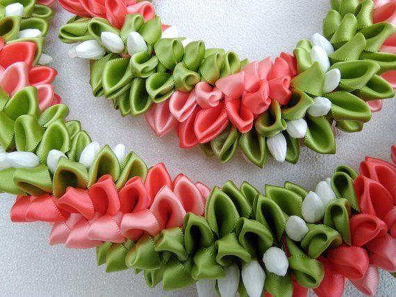 Pikake garden hawaiian ribbon lei – #Garden #Hawai…
