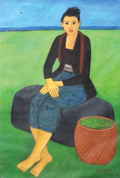 Sudarso - Gadis Jawa di Kebaya