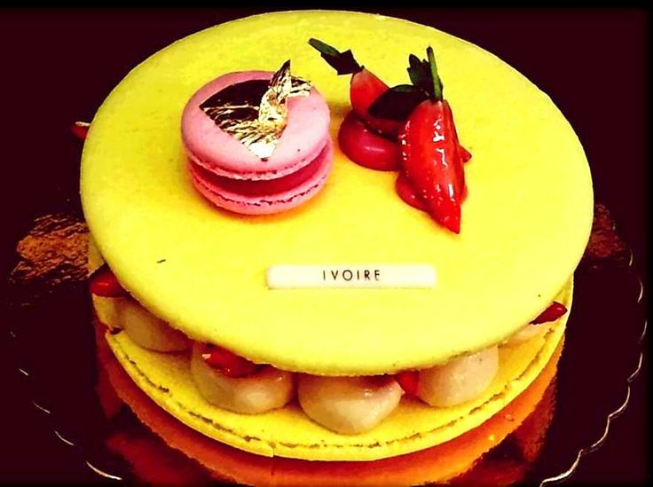 #Macaron #passion fruit #fraises by #Dionisis Alertas