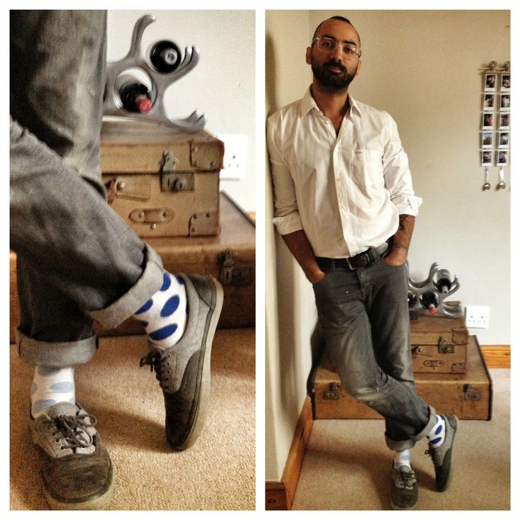 White, Denim and light blue socks!  #socks #sock #sockporn #sockgame #socksoftheday #sockswag #sockwars #nicsocks #menswear #mensfashion #shoes #shoesoftheday #shoeswag #outfit #outfitoftheday #outfits