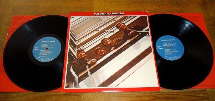 THE BEATLES 1962-1966 LP RED ALBUM W/ MISPRINT BLUE CAPITOL LABELS RARE! VG++ | eBay